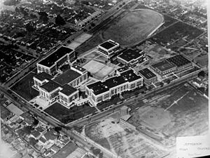 Central-Alameda, Los Angeles - Jefferson High School, 1920