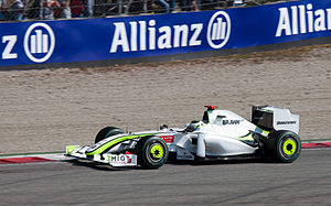 2009 Italian Grand Prix - Jenson Button finished on the podium for the first time since his win in Turkey.
