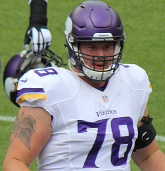 Jeremiah Sirles - Sirles with the Minnesota Vikings in 2015