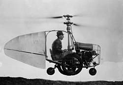 Jess Dixon in his flying automobile.jpg