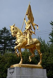 statue by Emmanuel Fremiet in Portland, USA