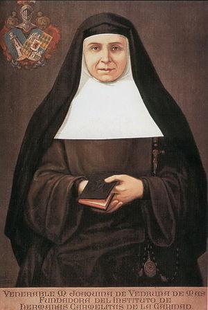 Joaquina de Vedruna, Santa