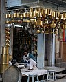 Jodhpur Brassware Shop with Engrossed Shopkeeper.jpg