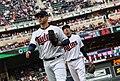 Joe Mauer - Minnesota Twins - Opening Day vs Seattle Mariners (26395830547).jpg