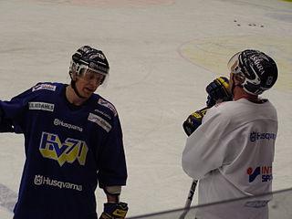 Johan Davidsson Swedish ice hockey player