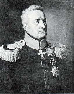 Johann von Thielmann Saxon soldier of the Napoleonic Wars