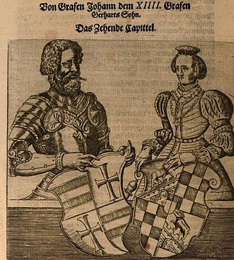 John V, Count of Oldenburg - Image: Johann V XIIII Graf von Oldenburg