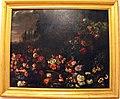 Johannes hermans detto monsù aurora, fiori su paesaggio, due porcellini d'india e un ramarro, 1650-65 ca..JPG