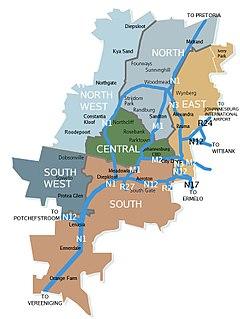 Suburbs of Johannesburg
