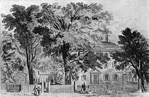 John Rowe (merchant) - Image: John Rowe house Bedford St Boston