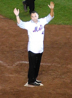 Mets–Phillies rivalry - Image: John Franco 2008 09 28