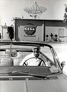 John Glenn at the Mercury Control Center