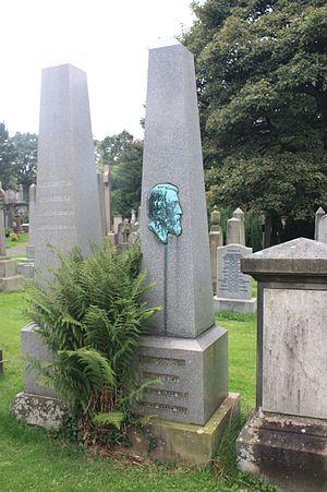 John Goodsir - John Goodsir's grave, Dean Cemetery