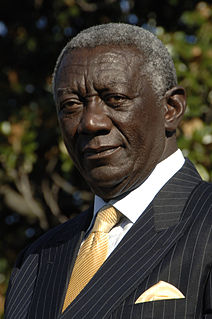 John Kufuor Fifth President of the Republic of Ghana
