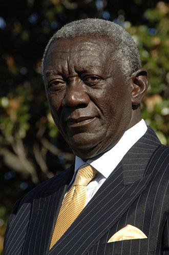 Ghanaian general election, 2004 - Image: John Kufuor 080915 A 8817J 090
