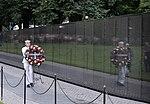 John McCain wreath laying at the Vietnam Veterans Memorial (42594453970).jpg