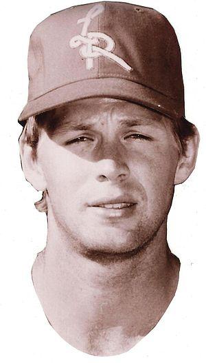 John Morris (outfielder) - Image: John Morris Baseball