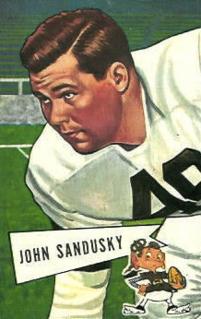 John Sandusky American football player and coach