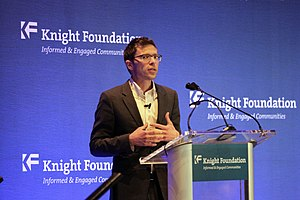 Jonah Lehrer - Jonah Lehrer, February 2013, Knight Foundation paid apology speech. As described in the text, the speech was the occasion of a public apology by Lehrer, which drew significant media disapprobation.