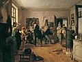 Josef Danhauser - Das Scholarenzimmer - 2109 - Österreichische Galerie Belvedere.jpg