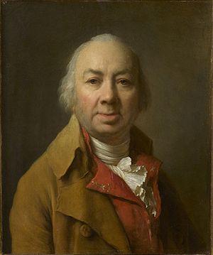 Joseph Duplessis - Self portrait of Joseph Duplessis, 1801