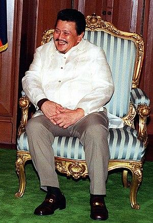 FAMAS Award for Best Actor - Joseph Estrada has won the award five times from thirteen nominations for his roles in 1962's Markang Rehas, 1964's Geron Busabos: Ang Batang Quiapo, 1966's Ito ang Pilipino, 1969's Dugo ng Bayani and 1981's Kumander Alibasbas.