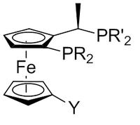 Generalul ligand Josiphos [3]