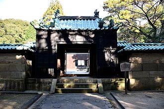 Tokugawa Yoshinao - Gate to the Mausoleum of Tokugawa Yoshinao at Jōkō-ji, Seto