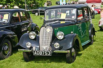 Jowett Cars - Jowett Eight 2-cylinder 1937