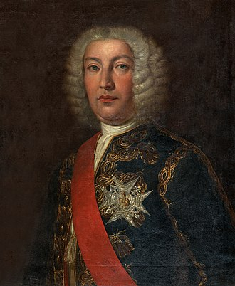 Spanish conquest of Oran (1732) - Spanish Admiral Don Juan José Navarro. Posthumous portrait by Rafael Tegeo.
