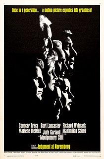 <i>Judgment at Nuremberg</i> 1961 film by Stanley Kramer