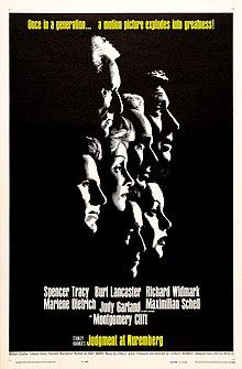 Judgment at Nuremberg (1961 film poster).jpg