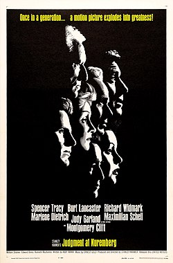 Judgment at Nuremberg (1961 film poster).jpg
