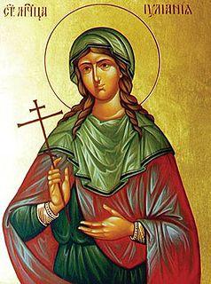 Juliana of Nicomedia Anatolian saint