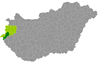 Körmend District Districts of Hungary in Vas