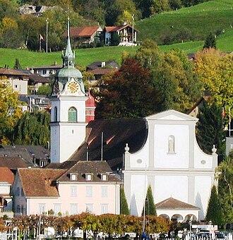 Küssnacht - Image: Küssnacht am Rigi Pfarrkirche St.Peter und Paul