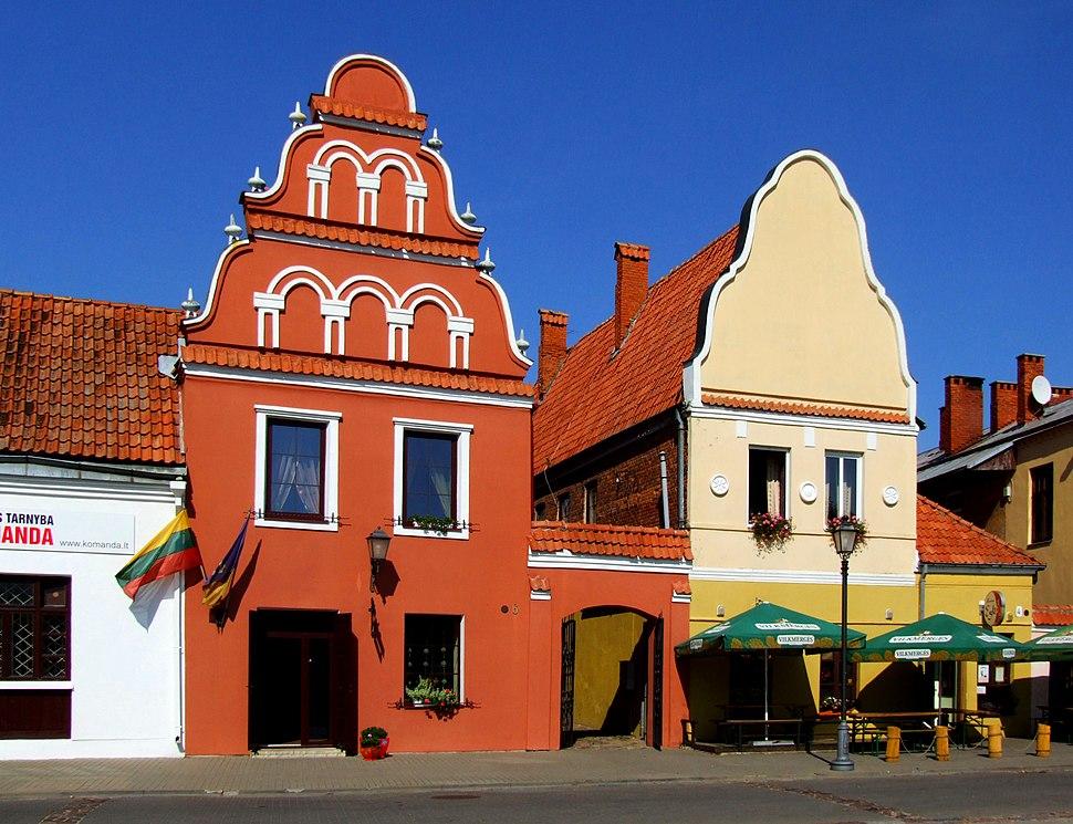 Kėdainiai (Kiejdany) - market square (2)