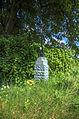 Kříž u silnice mezi obcemi Lipová a Horní Štěpánov - letní foto, okres Prostějov.jpg