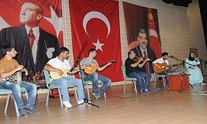 Kilis 7 Aralık University - Folk Music Concert by Students at Kilis 7 Aralık University