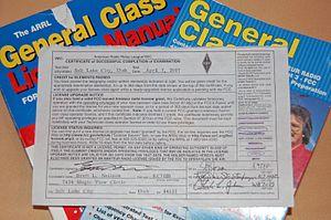 Volunteer Examiner Coordinator - Certificate of Successful Completion of Examination (CSCE)