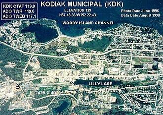 Kodiak Municipal Airport - Image: KDK c