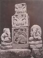 KITLV 87704 - Isidore van Kinsbergen - Hindu-Javanese sculptures, including sculptures of Ganseha coming from the Dijeng plateau - Before 1900.tif