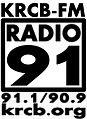 KRCB-FM Radio 91 logo.jpg