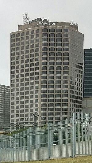 KSTR-DT - Main studios and office building for KSTR-DT and sister station KUVN-DT in downtown Dallas.
