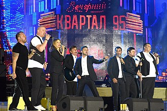 Volodymyr Zelensky - Kvartal 95 performance in 2018
