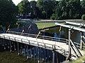 Kalmar slott - Juli 2014 - bron över vallgraven.JPG