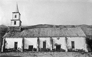 Harvey Rexford Hitchcock - Church in 1912 before first restoration