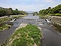 Kamo River just north of the Kamogawa Delta.jpg
