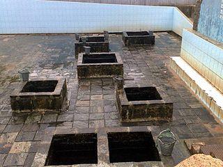 Kanniya hot water spring Thermal Springs in Sri Lanka