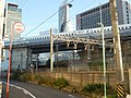 Kansai Main Line and Kintetsu Nagoya Line over the Tokaido Shinkansen.jpg